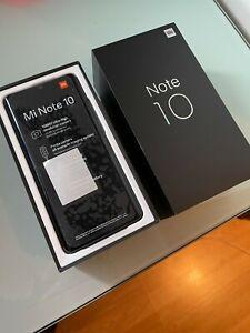 Xiaomi Mi Note 10 - 128Go - Noir de Minuit (Désimlocké) (Facture et Garantie)