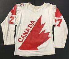 1976 Darryl Sittler Team Canada Vintage Hockey Jersey  27 Durene 10e9ec146