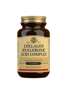 Solgar Collagen Hyaluronic Acid Complex - 30 Tablets