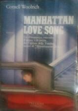 "CORNELL WOOLRICH ""Manhattan love song "" libro"