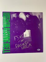 Darryl McDaniels autograph album LP Vinyl Run DMC Hip Hop Beckett Authentication