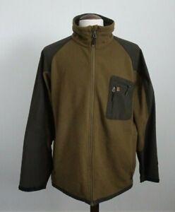 Mens Harkila Windstopper Brown Hunting Shooting Jacket - Size XXL 2XL