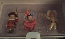 "Hallmark Christmas ""It's a Small World After All"" Disney ornament set MIB 2003"
