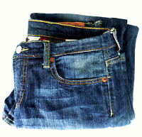 Women's Lucky Easy Rider Crop Blue Jeans (Size 6/28)