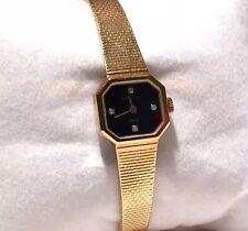 Swiss Diamond Wittnauer Ladie's Watch Gold tone Bracelet - Reduced price