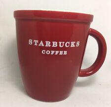 AUTHENTIC Starbucks ROSSO 2010 Tazza da caffè con bordo ad incastro da un set regalo