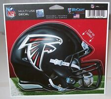 ATLANTA FALCONS HELMET WINCRAFT MULTI-USE CUT TO LOGO 5X6 DECAL STICKER