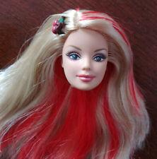 Barbie Doll Head for Custom OOAK Jurassic Park World Claire Redhead