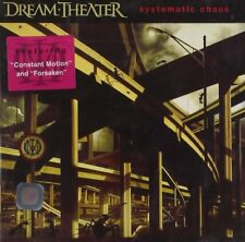 DREAM THEATER SYSTEMATIC CHAOS 2007 CD PROGRESSIVE METAL NEW