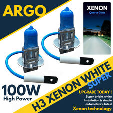 Vauxhall Astra Mk5/h H3 100w Super White Xenon Hid Front Fog Light Bulbs