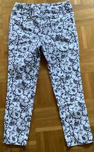 Daily Sports Damen Golfhose Weiß / Schwarz Gr.: 40 Gebraucht