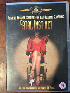Fatal Instinct DVD 1993 Erotic Thriller Comedy Spoof w/ Sherilyn Fenn Sean Young