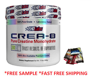 EHPlabs Crea-8 Creatine Monohydrate 500g 100 serves strength endurance perform