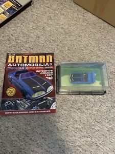 Eaglemoss Batman Automobilia Batmobile #48 2014 detective comics #597
