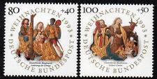 WEST GERMANY MNH STAMP SET DEUTSCHE BUNDESPOST CHRISTMAS 1993 SG 2552-2553
