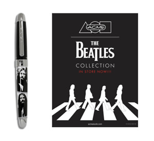 """HUGE SALE Archived The Beatles """"1969"""" Roller Ball Pen With Free Poster NEW"""