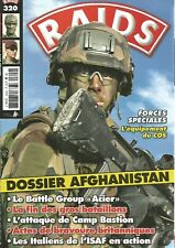 RAIDS N°320 DOSSIER AFGHANISTAN / FORECES SPECIALES : EQUIPEMENT DU COS