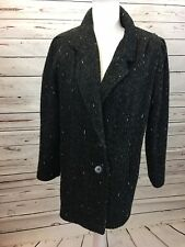 Vintage New York Girl Womens Size 10 Winter Lined Dress Coat USA