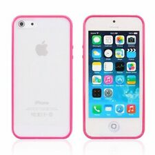 iPhone 6S 6 case Bumper Case Cover Protective Frosted Clear Hard HOT PINK