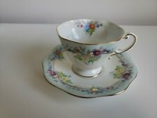 Vintage Tea cup and Saucer, Foley China, English Bone China, 00004000  Made In England