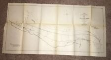1904 Sketch Map Delta Point Reach Youngs Point to Kleinston GPO A&VRR Incline LA