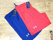 BNWT Men's UNDER ARMOUR Raid International Shorts RED OR BLUE 4 SIZES