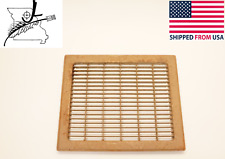 "Old Steel Heat Grate Floor Vent Cover Register 14"" X 11 3/4"" *Some Surface Rust*"