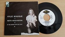 "KYLIE MINOGUE & KEITH WASHINGTON - IF YOU WERE WITH ME NOW - 45 GIRI 7"" GERMANY"