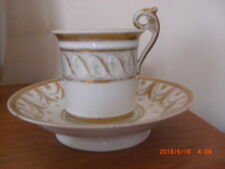 Unboxed Tea Cup & Saucer European Continental Porcelain & China