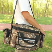 Fishing Bag Carryall Large Capacity Bag bait Tackle Bag Pack Holdall Waterproof