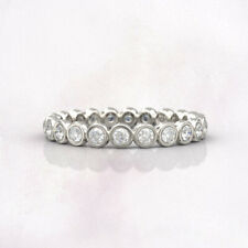Solid 950 Platinum Size 7 8 6 9 Christmas Sale 2.00 Ct Real Diamond Wedding Band