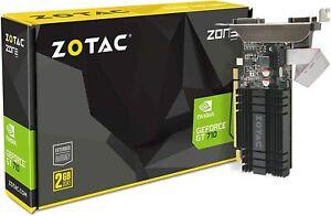 ZOTAC GeForce GT 710 2GB DDR3 PCI-E2.0 ZT-71302-20L Graphics Card