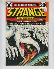 "Strange Adventures 243 VF (8.0) 9/74 Adam Strange in ""Emotion-MAster of Space!"""