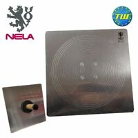 """NELA Trowels 16"""" x 16"""" Aluminium Hawk with BiKo Cork Grip Handle 407040BK - Comi"""