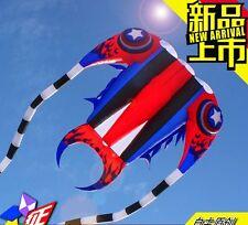 New 3D 16spm  1 Line Stunt Parafoil Trilobites POWER Sport Kite outdoor toy
