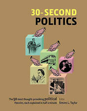 30-second Politics by Hardcover Book