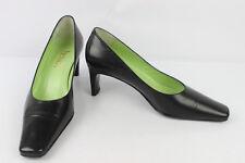 VINTAGE Zapatos VICTORIA En Piel Negro T 38,5 MUY BUEN ESTADO