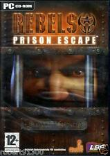 JEU PC CD ROM../...REBELS....PRISON ESCAPE......