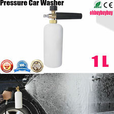 Pressure Washer Jet Wash 1/4Adjustable Snow Foam Lance Water Cannon Car Washing@