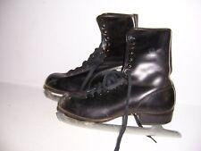 Vintage American Rocket Men's Ice Skates Size 8 with Box