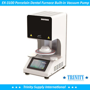 Porcelain Furnace Oven Dental Lab  built-in Vacuum Pump. All in one