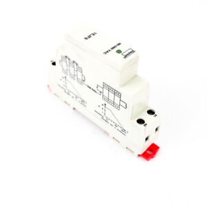 Zero Cross Solid State Relay 90-280VAC Input 24-280VAC Output 10 Amp 1 Pole DIN