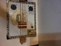 Arturo Fuente Cigar Box Guitar  Pre-owned slightly 3 string w strap