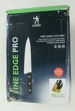 Fine Edge Pro, J.a. Henckels International 15 Piece Knife Block Set