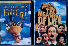 MONTY PYTHON - & HOLY GRAIL + MEANING OF LIFE - (2) DVD LOT - STILL SEALED