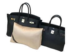 Bag-a-Vie Fits Hermes Birkin 35 Purse Pillow Storage Handbag Insert Shaper