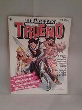 COMIC EL CAPITAN TRUENO Nº8 ED. BRUGUERA 1986