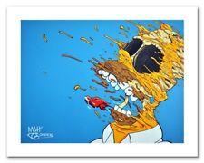 NEW Deconstructed Homer Art Print Signed By Matt Gondek