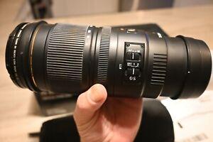 Sigma AF 70-200mm f/2.8 D EX APO HSM Zoom Lens for Nikon Japan Mint