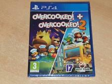 Overcooked! + Overcooked! 2 PS4 Playstation 4 UK Game **BRAND NEW & SEALED**